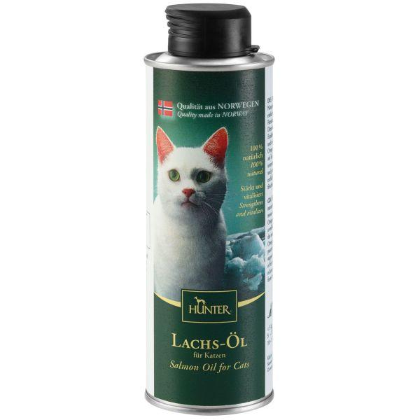Lachs-Öl für Katzen