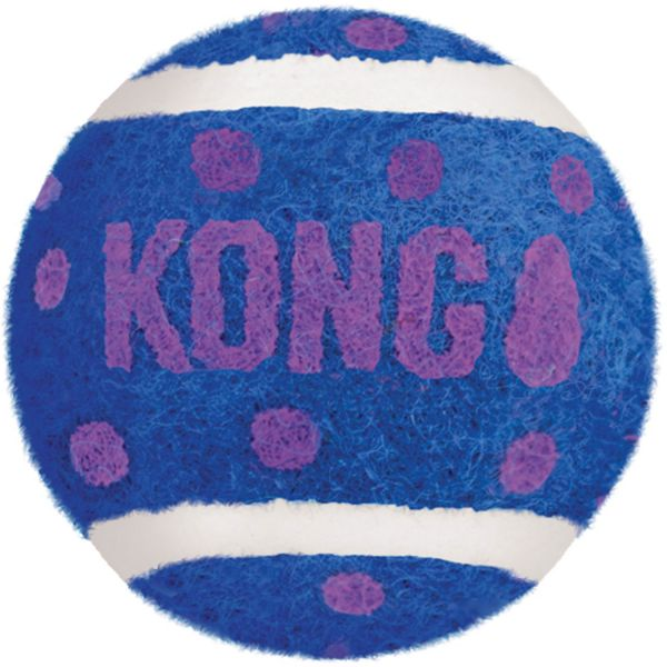 Katzenspielzeug KONG® Tennis Balls mit Glöckchen