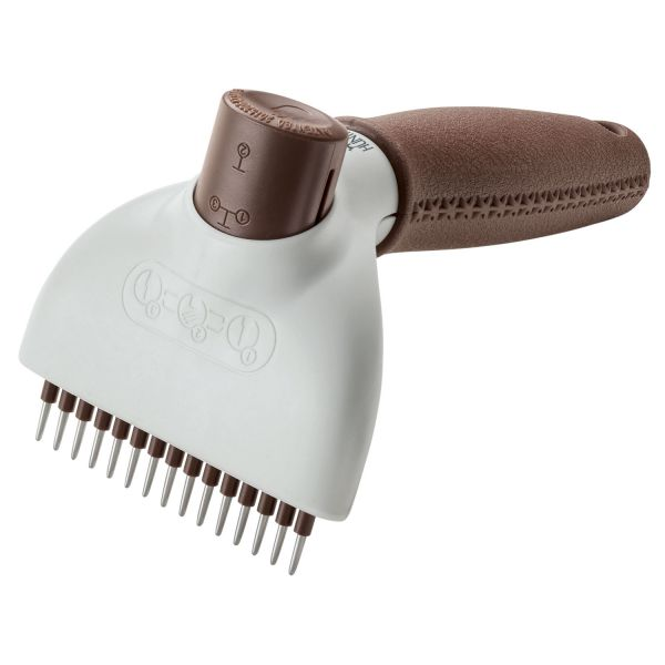 Detangling rake Spa, self-cleaning