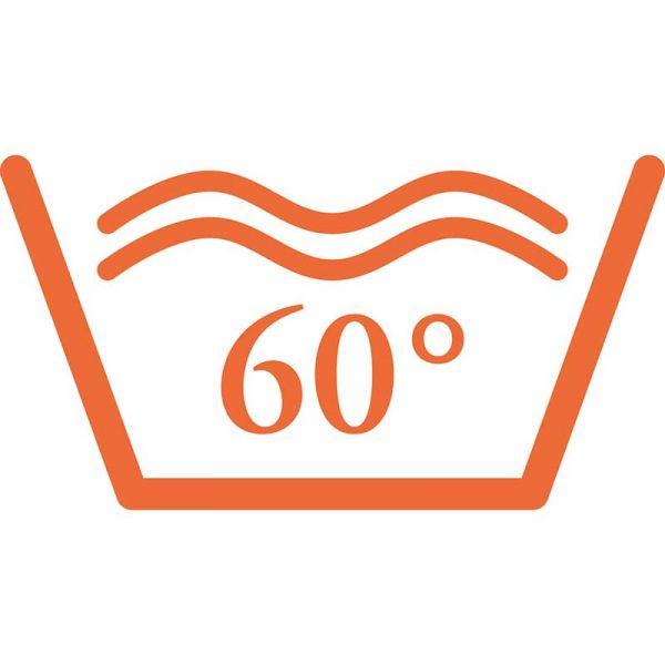 bei 60°C waschbar