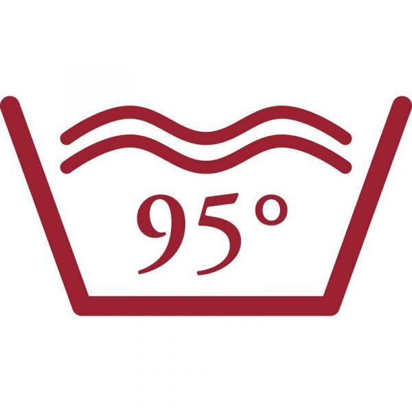 bei 95°C waschbar
