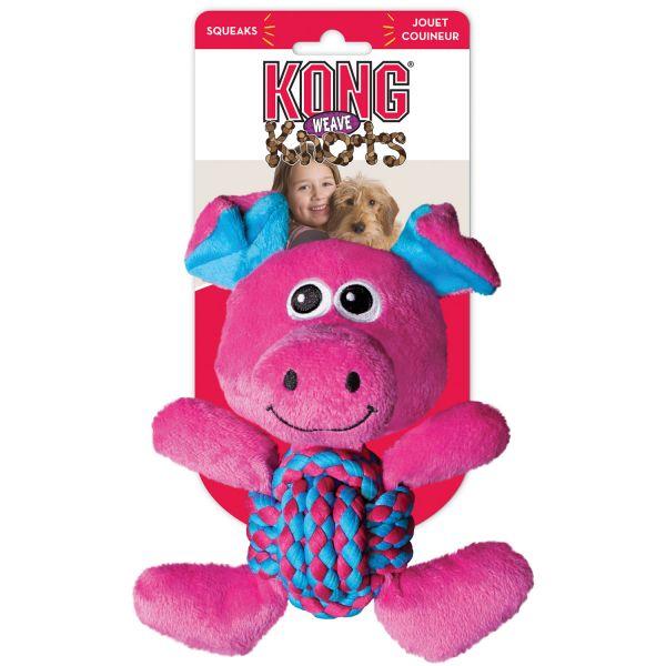 Hundespielzeug Kong Weave Knots