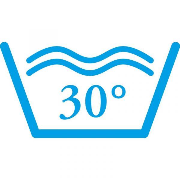 bei 30°C waschbar