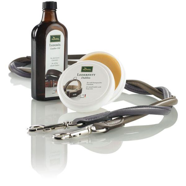 Leather care oil