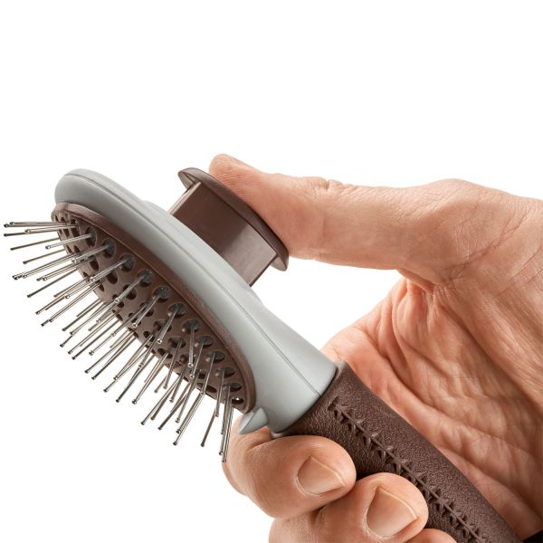 Grooming brush Spa, self-cleaning