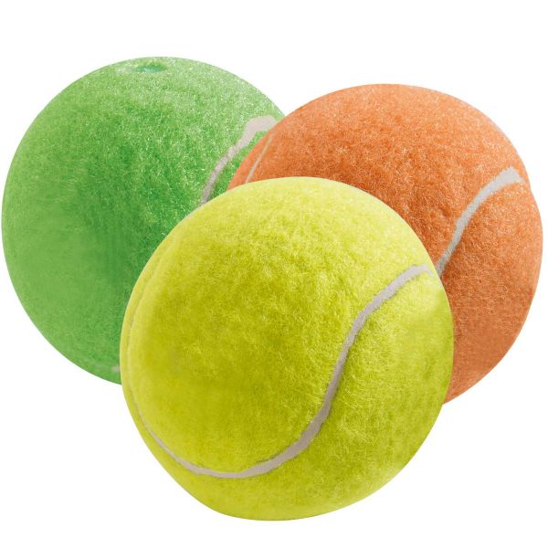 Hundespielzeug Tennisball Colour